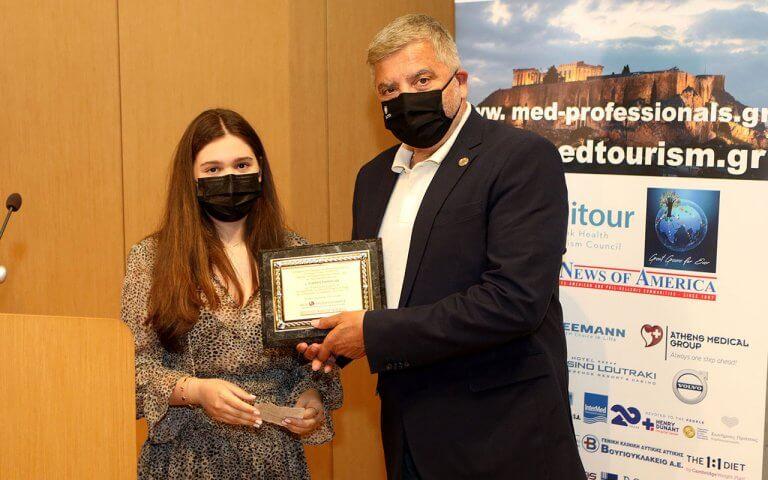 Απονομή  βραβείου στον Πρόεδρο του ΙΣΑ και Περιφερειάρχη Αττικής Γ. Πατούλη
